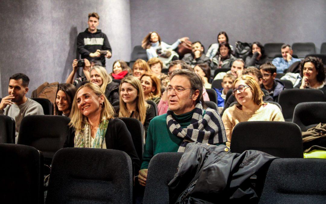 Público de la presentación Obra María Magdalena