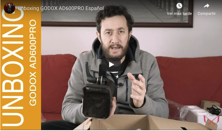 Unboxing flashes Godox AD600Pro