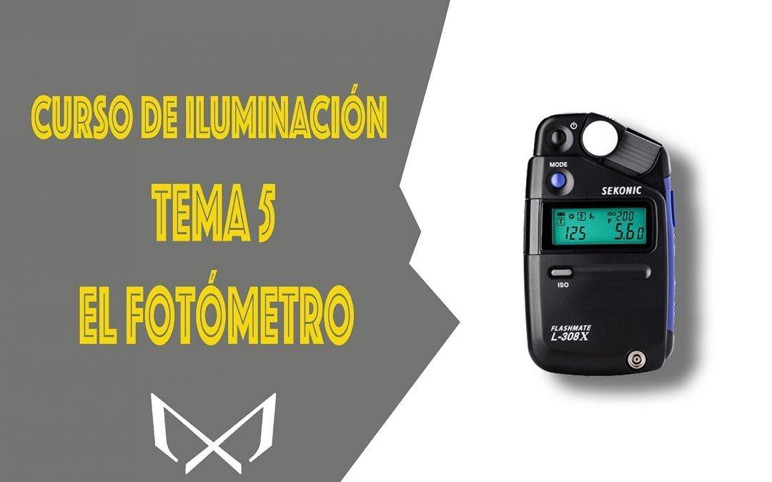 Curso de iluminación. Tema 5 El Fotómetro, el manejo y sus partes.