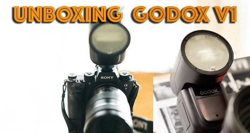 Unboxing Godox V1