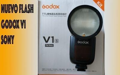 Godox V1 para Sony