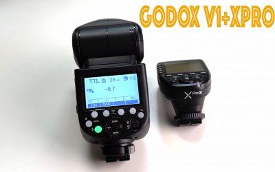 Configurar Godox V1 con el disparador Xpro