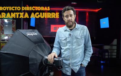 Making of sesión de fotos Proyecto Directoras. Arantxa Aguirre