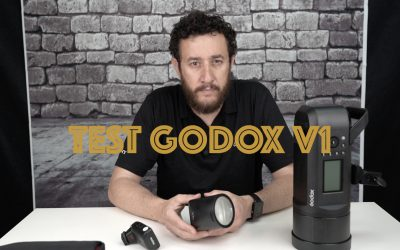 Review flash Godox V1