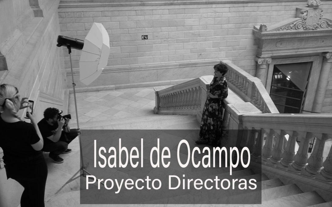 Making of sesión de fotos a la directora de cine Isabel de Ocampo