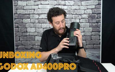 Unboxing Godox Ad400Pro