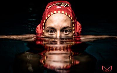 Sesión de fotos a la portera de Waterpolo, Laura Ester.