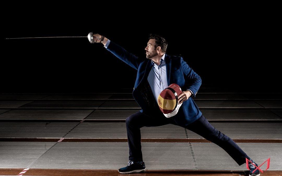 Sesión de Fotos con el deportista de esgrima José Luis Abajo «Pirri»