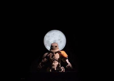 24-Quien no ha mirado estos dias la luna