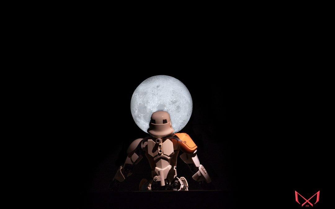 Entrada 12. #undiaunafoto Quien no ha mirado estos días la luna¡